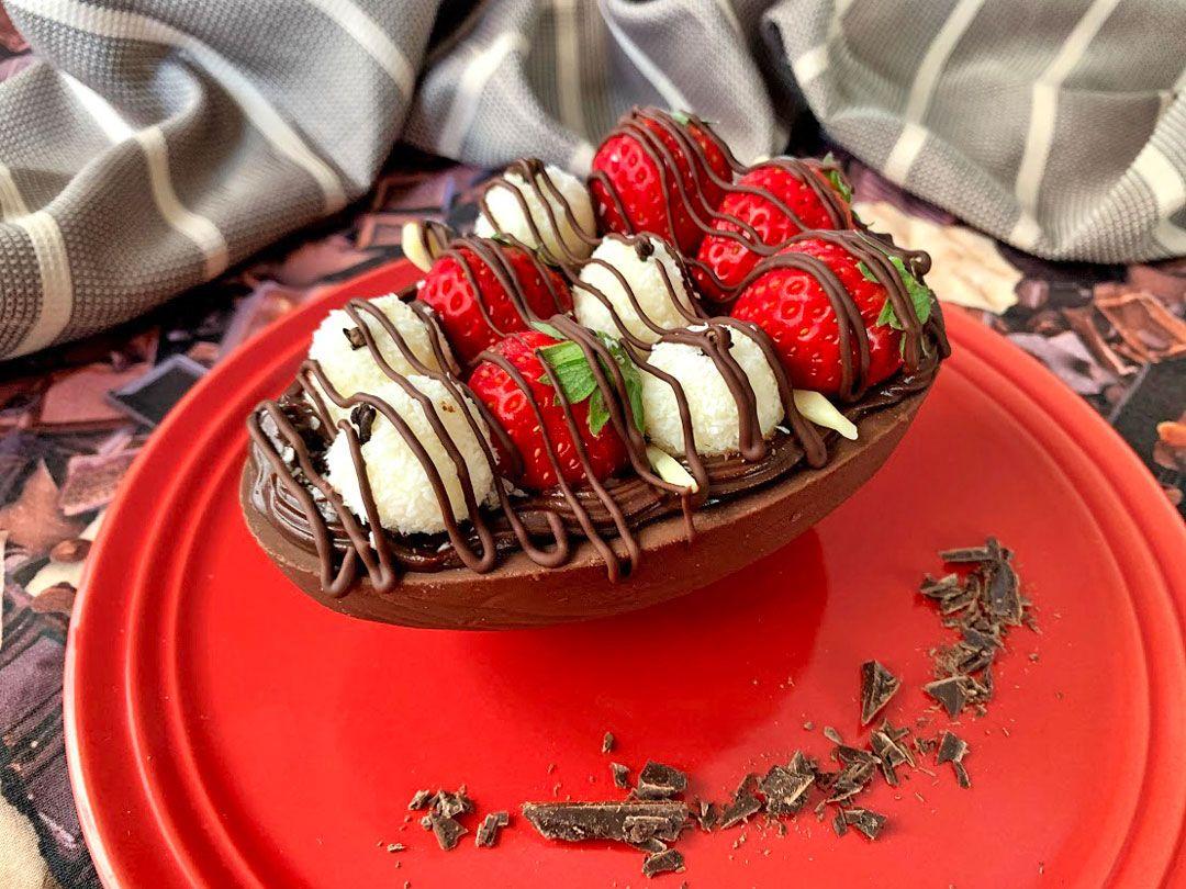 パスコアの卵型チョコレート